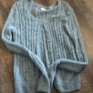 Aerie cable knit cardigan. Size medium.